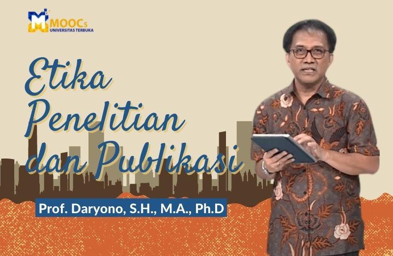 Etika Penelitian dan Publikasi